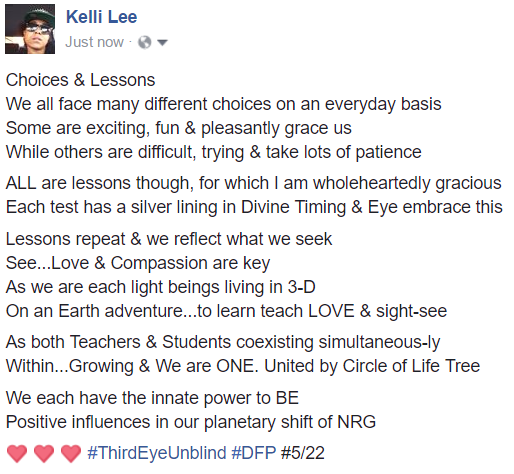 choices & lessons