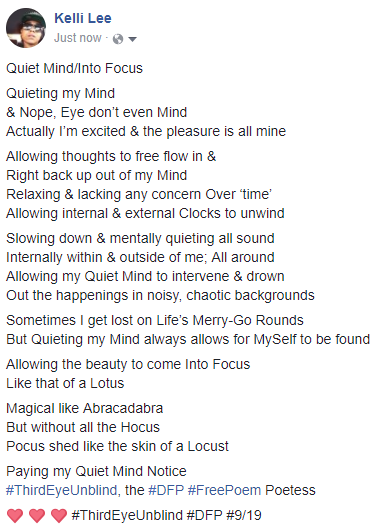 Quiet Mind_Into Focus