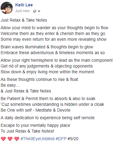 relax & take notes