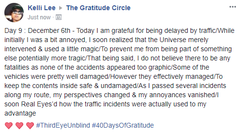 Gratitude 2 Day 09 2017-12-6