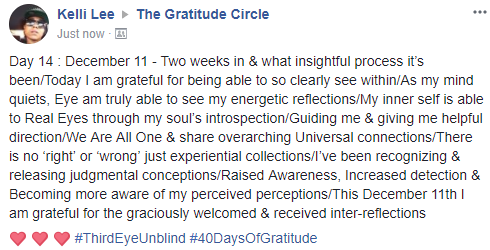 Gratitude 2 Day 14 2017-12-11