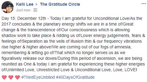 Gratitude 2 Day 15 2017-12-12