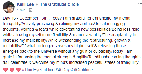Gratitude 2 Day 16 2017-12-13