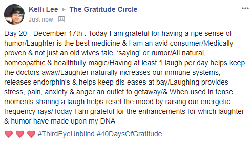 Gratitude 2 Day 20 2017-17-12