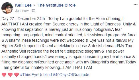 Gratitude 2 Day 27 2017-12-24