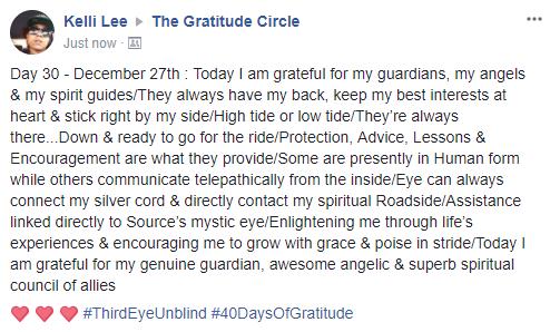 Gratitude 2 Day 30 2017-12-27
