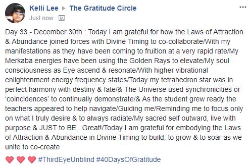 Gratitude 2 Day 33 2017-12-30