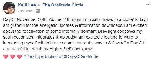 Gratitude Day 2 Day 03 2017-11-30