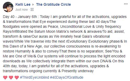 Gratitude 2 Day 40 2018-01-06