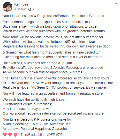 Non-Linear Lessons & Progressions_Personal Happiness Guarantor
